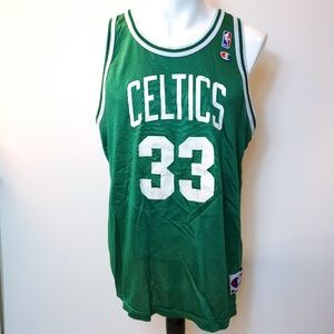 Champion NBA Jersey Celtics Bird 33 Size 48